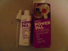 Vintage Clairol POWE PAL Conditing Styling Mist For Blow Drying Hair
