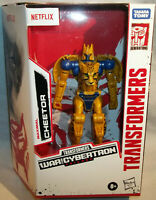 Transformers War for Cybertron Netflix Kingdom Deluxe CHEETOR - IN HAND!! NEW!!