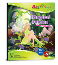 QuackDuck Malbuch Magical Fairies, Zauberhafte Feen - Malen mit Sticker Vorlagen