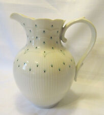 Kaiser Germany Romantica RIMINI Porcelain Water Pitcher White Blue-GreenREDUCED!