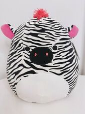 16 inch Squishmallow Tracey The Zebra Soft Plush Pillow Toy