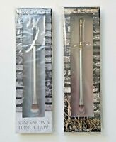 Urban Decay Game Of Thrones Arya Stark's Needle & Jon Snow's Longclaw Brush SET!