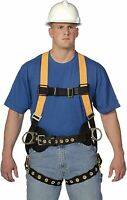 Miller TF4577/XXLAK T-Flex Titan Stretchable Full Body Harness 400 LB Cap. - 2XL