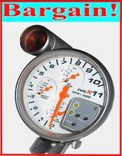 5 INCH 4-in-1 RPM TACHOMETER TACHO REV GAUGE WATER TEMP OIL TEMP OIL PRESSURE