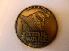 Star Wars - Episode lll - Limited Edition coin/medallion -Darth Vader on front