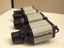 LOT of 4 GVI Video Plus 540TVL Color CCTV Camera + 3-8mm Auto-Iris Lens AIB-2130