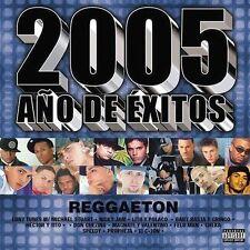 Various Artists : 2005 Año de Éxitos Reggaeton CD