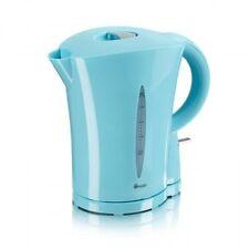 NUOVO SWAN Cordless Bollitore Elettrico Brocca 1.7 L Litro Acqua Tè Caffè Cucina Blu