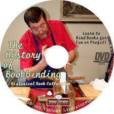 History of Bookbinding {How To Repair Antique Books for Fun or Profit} on DVD