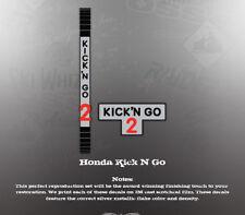 HONDA KICK N GO 2 DECAL GRAPHIC KIT LIKE NOS