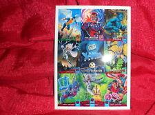1994 Fleer Ultra X-Men Cards Uncut Sheet Premier Edition