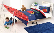 CAMPING Cubby House Kids DOUBLE Quilt Doona Cover Set