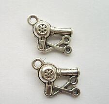 25pcs Tibetan silver hair dryer charms pendant 19x11 mm