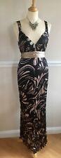 *Principles* Long Silk Dress Pure Crinkled Silk Maxi Dress Holiday UK14 BNWT