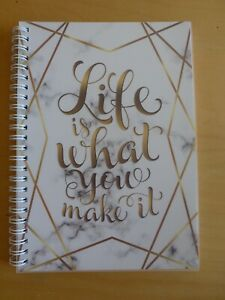 A5 DAILY PLANNER, JOBS TO DO LIST, JOURNAL, DAILY SCHEDULE, PLAN, LIFE MAKE IT