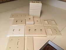 Cream Wall Electric Switch Plates-Outlet Covers Pre Owned Good Condition Lot 63