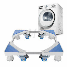 Adjustable Universal Washing Machine Floor Stand for Fridge Movable Trolley Base
