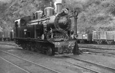 PHOTO FC de la Robla Steam Locomotive 20 at Valmaseda in 1960