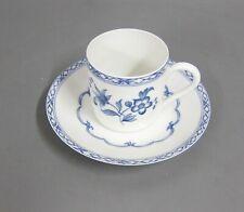 Mokkatasse mit UT Espresso TasseLimoges Porcelaine De Paris CHINE BLEU