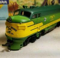 Athearn  John Deere F7 A rtr series locomotive train engine HO  powered nos