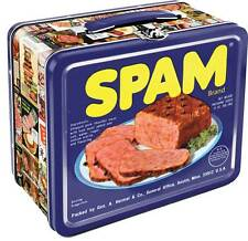 "Spam Metal Lunch Box - 8.5"" x 6.75"""