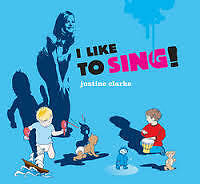 Justine Clarke I Like To Sing Childrens CD Album VGC