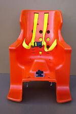 Siège de vélo enfant vintage REX SITSEN designer C.A BREGER orange scandinave
