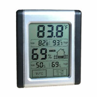 Digital LCD Hygrometer Humidity Indoor Outdoor Thermometer Temperature Room Mete