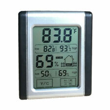 Digital LCD Hygrometer Humidity Indoor Outdoor Thermometer Temperature Room Mete