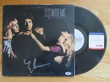 "LINDSAY BUCKINGHAM of FLEETWOOD MAC signed ""MIRAGE"" 1982 Record / Album PSA"