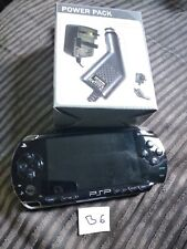 Sony PSP Entertainment Pack 1000 Series Handheld Game Console - Black