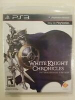 White Knight Chronicles International Edition PlayStation 3 PS3 NEW SEALED