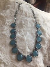 (34N64) blue Rv $98 Lia Sophia Thea necklace