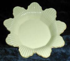 Vintage Lenox Meridian Collection Flower Candy Dish-24K Gold Rim-Excellent