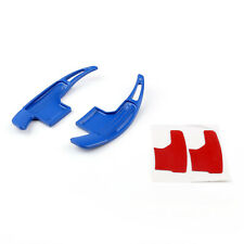 1Pair  Blade Steering Wheel Shift Paddle Shifter Extension For Ford Mustang Blue