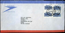 South Africa 1986 Commercial Airmail Cover To England #C32683A