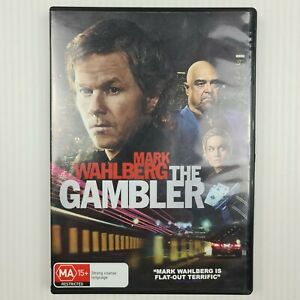 The Gambler DVD - Mark Wahlberg, John Goodman - Region 4 AUS - TRACKED POST