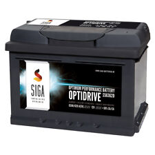 SIGA Autobatterie 63Ah 12V extrem Leistungsstark 620A/EN ersetzt 60Ah 64Ah 66Ah