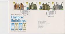 GB ROYAL MAIL FDC 1978 HISTORIC BUILDINGS STAMP SET LONDON PMK