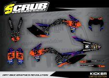 KTM Dekor EXC 125 200 250 300 350 450 500 2014 2015 Aufkleber