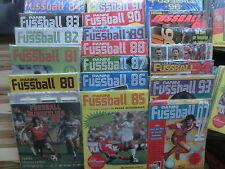 PANINI FUSSBALL BUNDESLIGA 80 84 85 87 88 89 90 91 92 KOMPLETTSET
