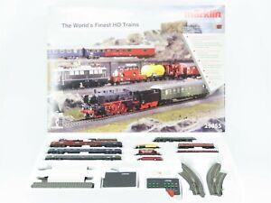 HO Scale Marklin 29855 Digital Premium Starter Train Set w/ Track & Controller