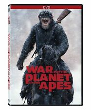 War for the Planet of the Apes (DVD 2017) NEW* Drama, War*