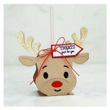 Stanzschablone Sizzix A* Weihnachten Deer Winter Box Cutting Dies Framelits Elch