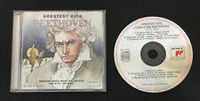 Greatest Hits Beethoven AUDIO CD 1994 Eugene Ormandy