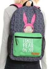 BOB'S BURGERS BACKPACK SCHOOL BAG LOUISE BELCHER NEW