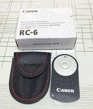 RC-6 Remote Shutter-Release for Canon EOS 80D 760D 750D 70D 100D 700D 600D RC6