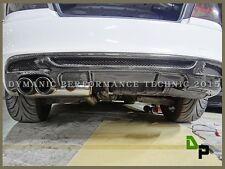 Carbon Fiber P Style Rear Bumper Diffuser For 08-13 E82 E88 M-Sport 128i 135i