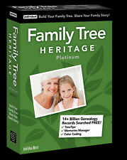 Family Tree Heritage Platinum 15 PC NEW!
