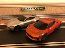Scalextric James Bond Spectre Jaguar C-X75 & Aston Martin BB10 Mint